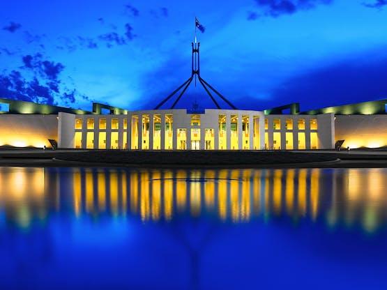 Parlamento. Camberra, Austrália