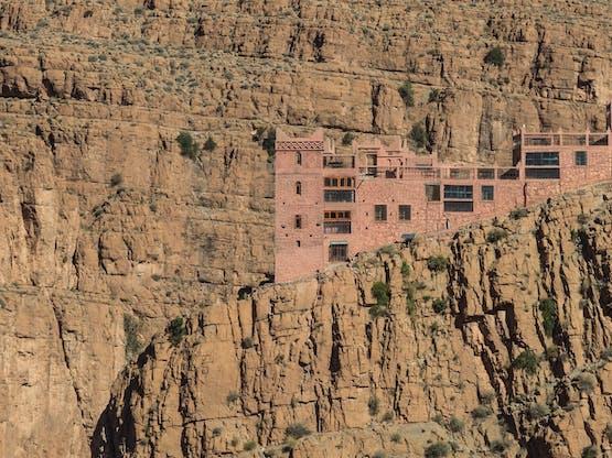 Vale Gorges du Dades, Marrocos