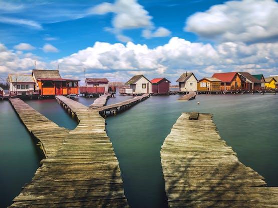Lago Bokod, Hungria