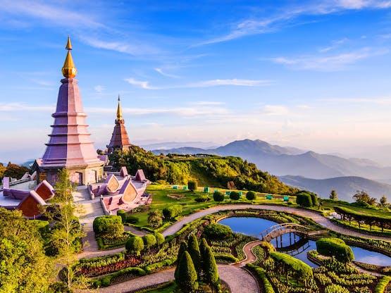 Parque Nacional Doi Inthanon. Chiang Mai, Tailândia