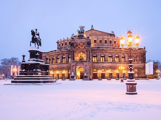 Semperoper. Dresden, Alemanha