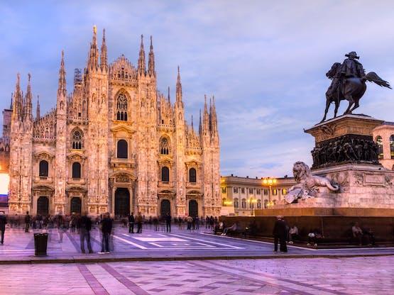 Catedral de Milão. Milão, Itália