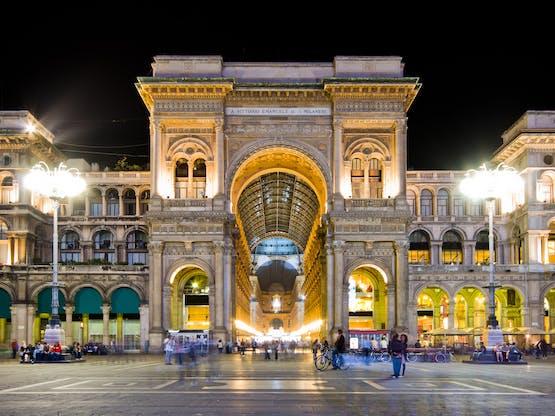 Galeria Vittorio Emanuele II. Milão, Itália