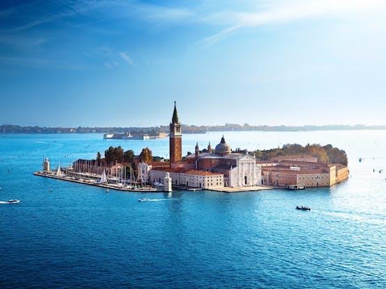 Ilha San Giorgio. Veneza, Itália