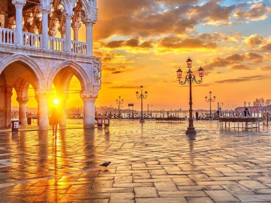 Piazza San Marco. Veneza, Itália