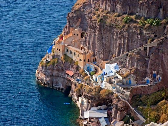 Oia. Santorini, Grécia
