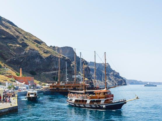 Porto de Santorini, Grécia