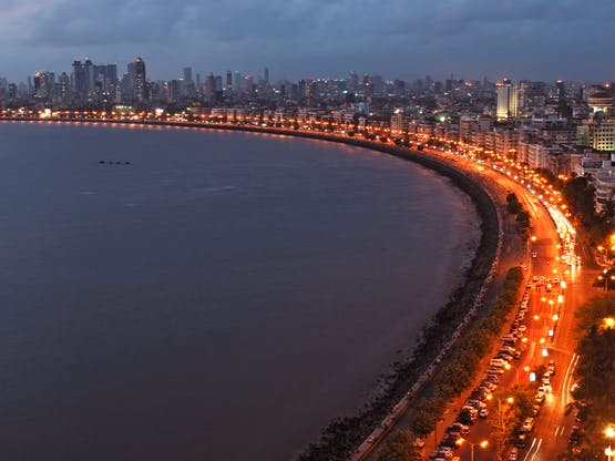 Queen's Necklace. Mumbai, Índia.