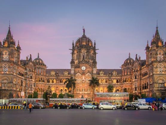 Chhatrapati Shivaji Terminus. Mumbai, Índia.