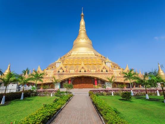 Global Vipassana Pagoda. Mumbai, Índia.