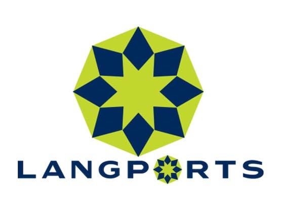 Langports logo
