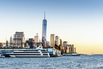 Nova York :: Jantar no navio