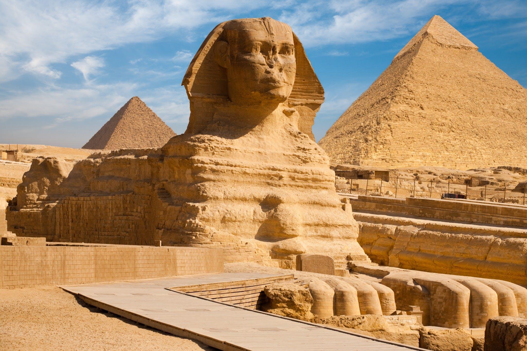 Cairo :: Pirâmides e Esfinge em Giza