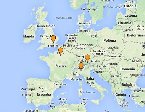 Mochilão® Compras na Europa
