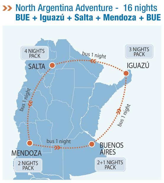 Mochilão® Argentina Adventure