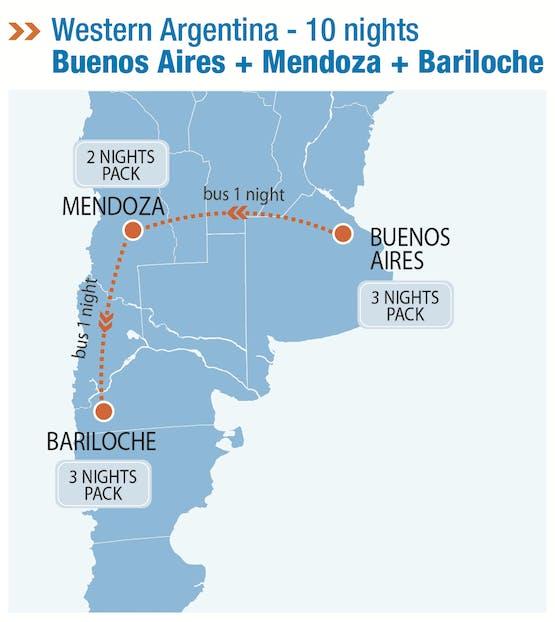 Mochilão® Argentina Ocidental