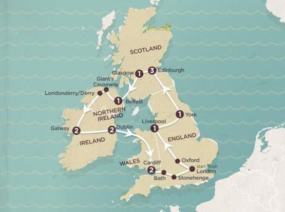 Mochilão® Reino Unido + Irlanda | Inverno