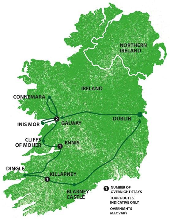 Mochilão® Irlanda