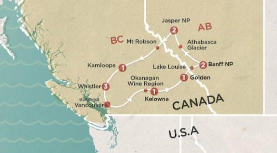 Mochilão® Canadian Rockies