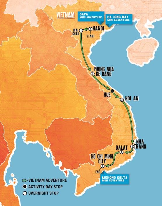 Mochilão® Vietnam Adventure