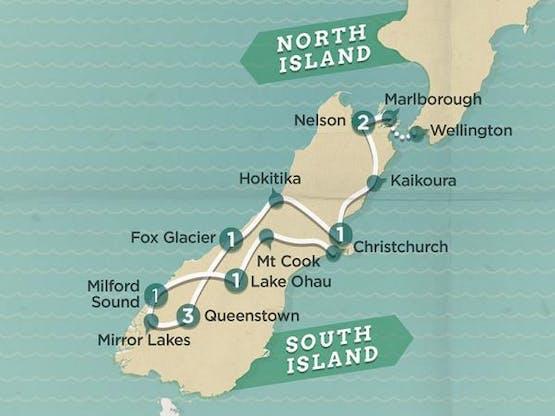 Mochilão® Explore a Nova Zelândia