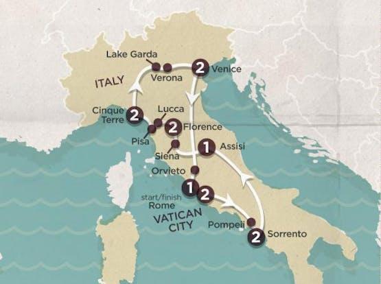 Mochilão® Explore a Itália