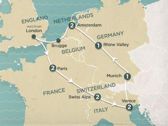 Mochilão® Europa Express   Inverno