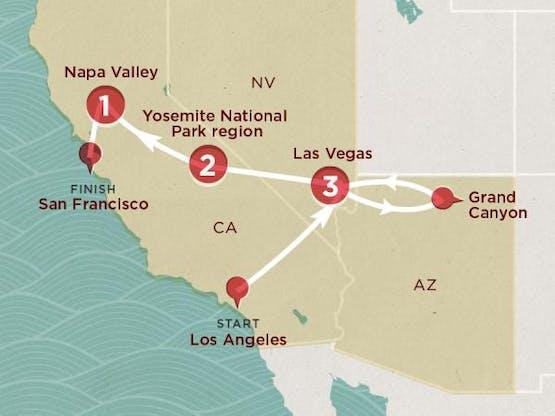 Mochilão® California Calling