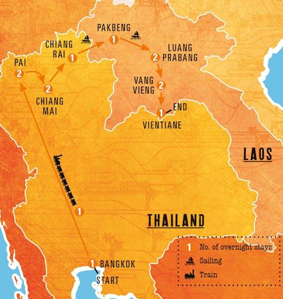 Mochilão® Asia: Tailândia & Laos