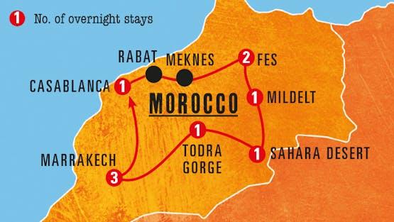Mochilão® Marrocos