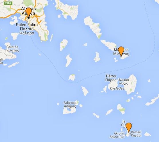 Mochilão® Grécia