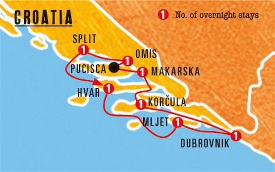 Mochilão® Ilhas da Croácia