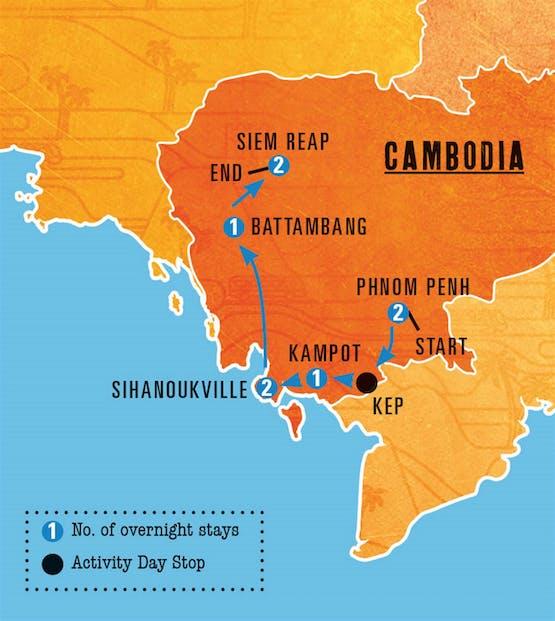 Mochilão® Camboja Adventure