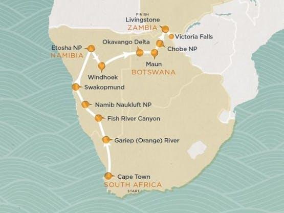 Mochilão® Explore a África