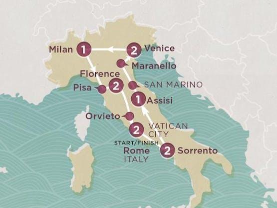Mochilão® Explore a Itália | Inverno