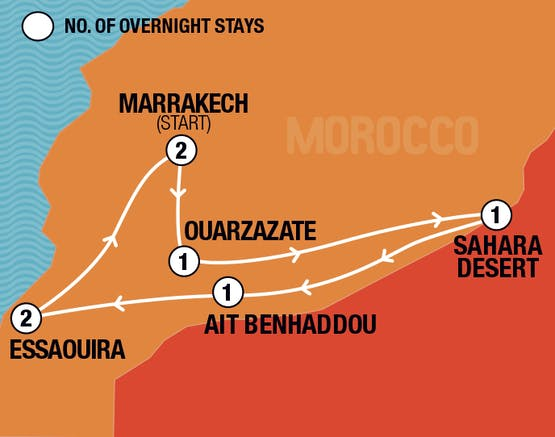 Mochilão® Marrakech & Saara