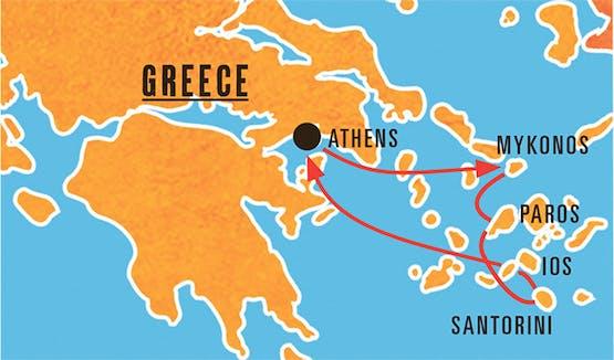 Mochilão® Ilhas Gregas