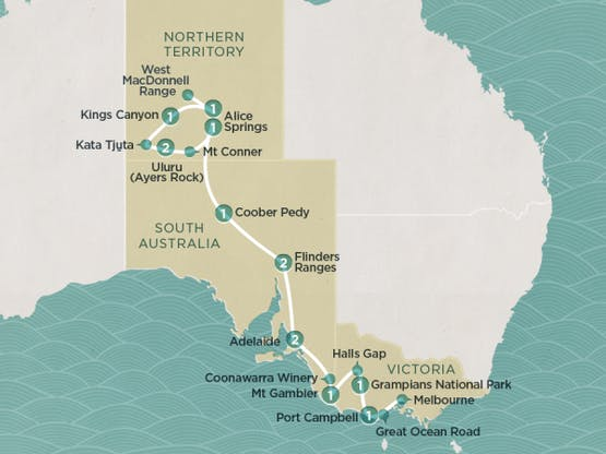Mochilão® Australian Outback
