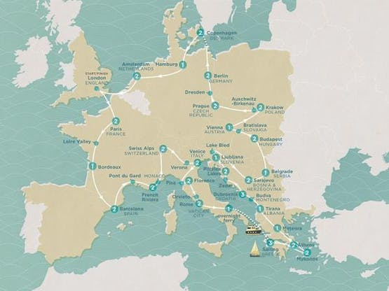 Mochilão® Mega European