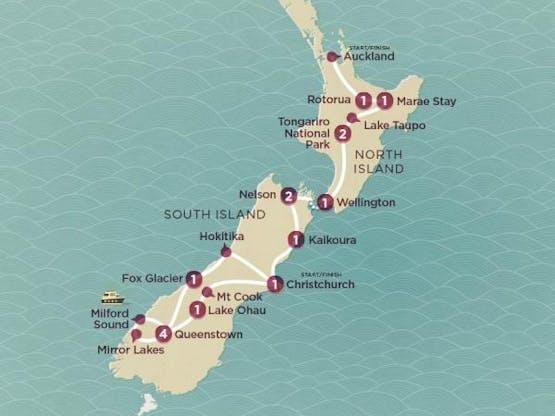 Mochilão® Nova Zelândia