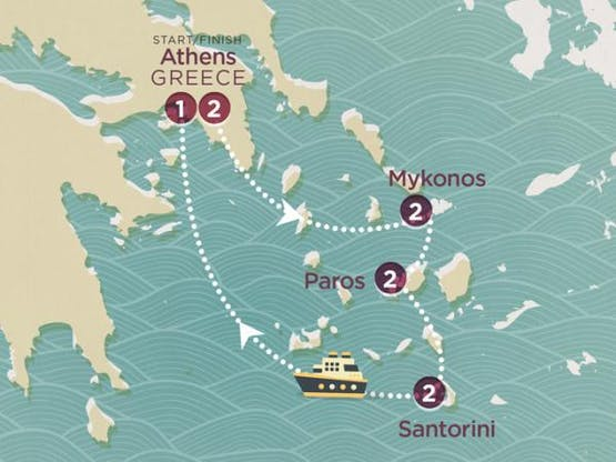 Mochilão® Greek Island Hopper