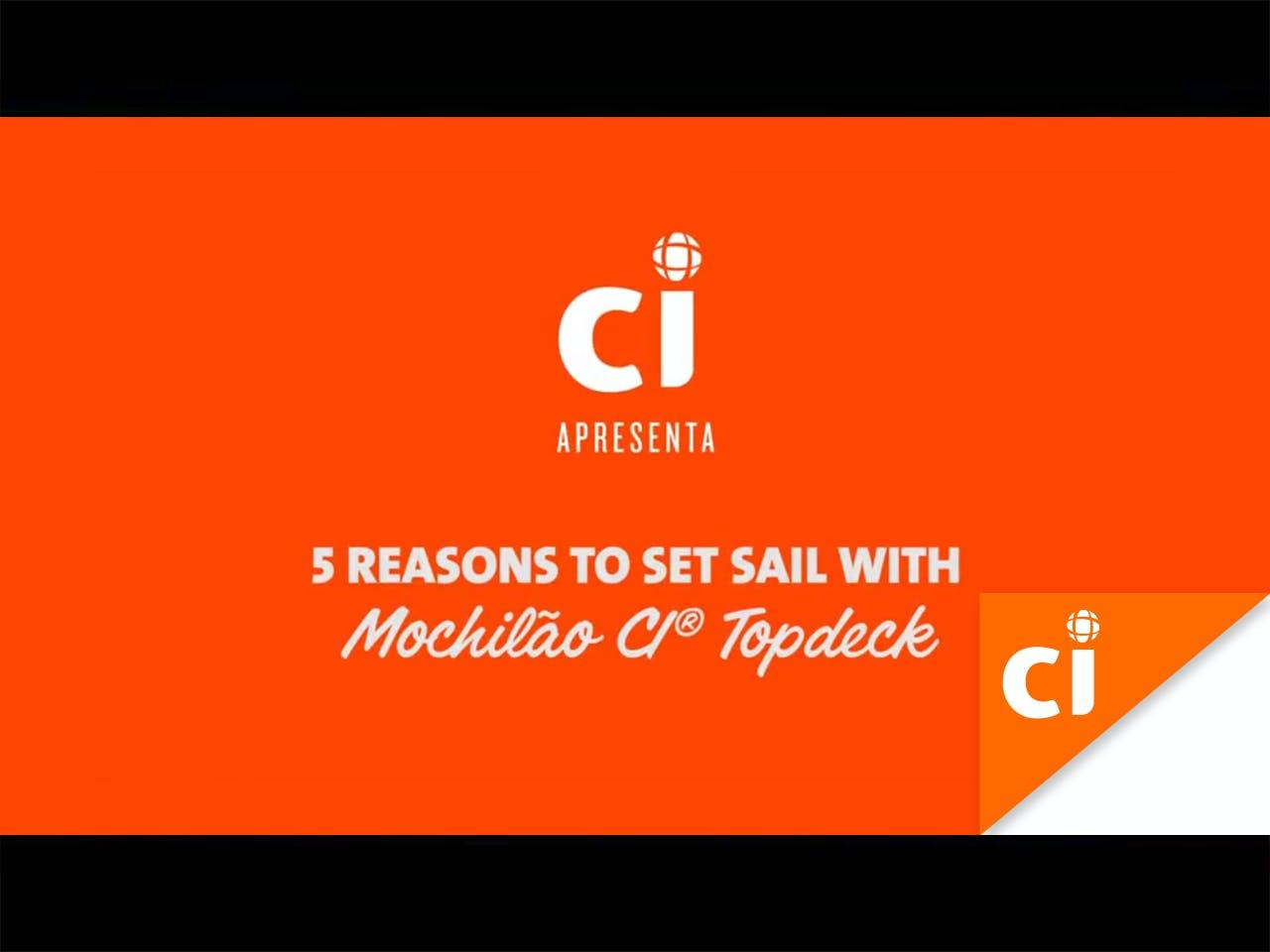 Mochilão® CI | Sailing Topdeck