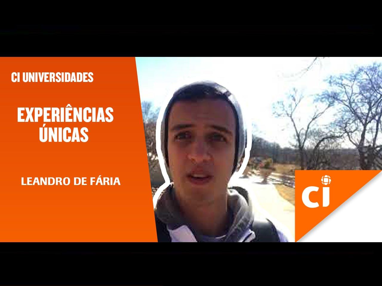 #ExperiênciasÚnicas - Leandro de Faria Lima